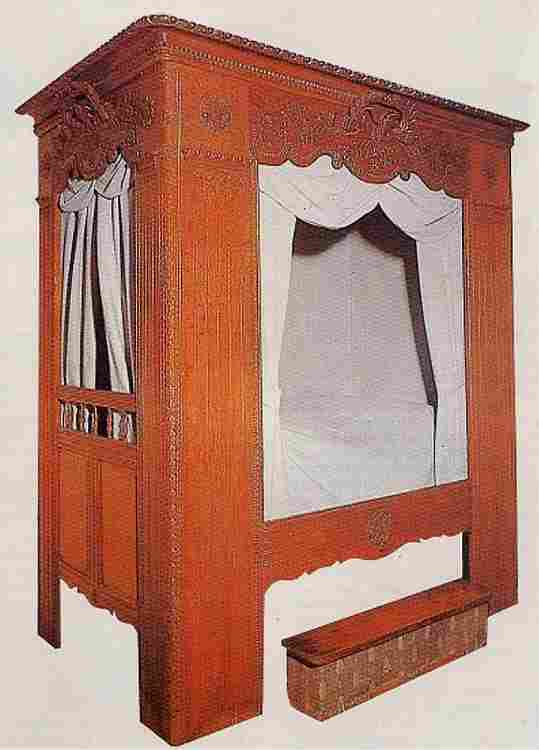 Les lits en images les meubles anciens une valeur refuge - Meuble normand ancien ...