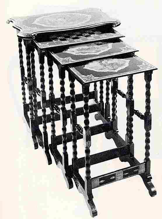 Les meubles d 39 appoint en images meubles anciens une - Meuble en papier mache ...