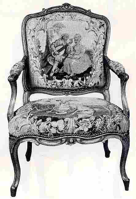les si ges de louis xiii louis xv en images meubles. Black Bedroom Furniture Sets. Home Design Ideas