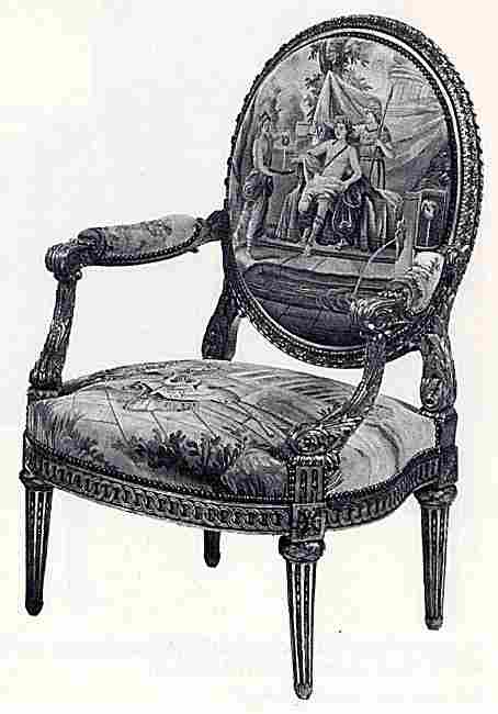 fauteuil ancien. Black Bedroom Furniture Sets. Home Design Ideas