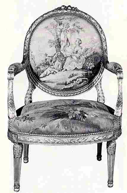 style louis xvi fauteuil. Black Bedroom Furniture Sets. Home Design Ideas