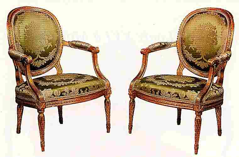 style louis xvi fauteuil. Black Bedroom Furniture Sets. Home Design Ideas