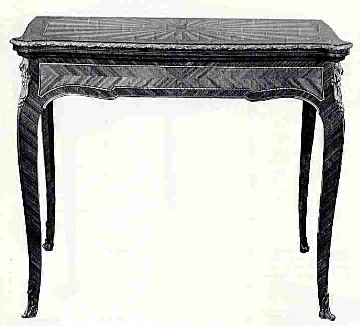 les tables jeu et les billards en images meubles anciens valeur refuge. Black Bedroom Furniture Sets. Home Design Ideas