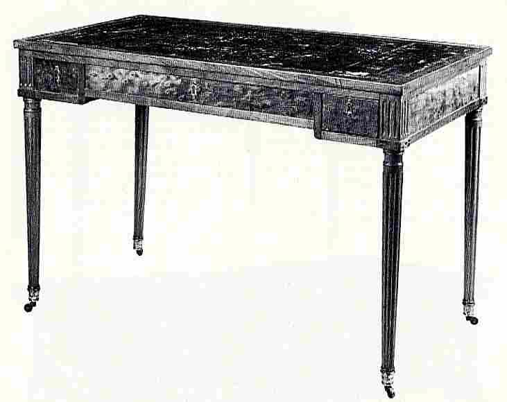 Les tables jeu et les billards en images meubles - Valeur des meubles anciens ...