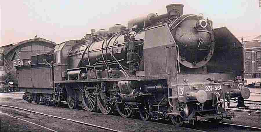 la locomotive 231 g conqu te de la vitesse trains de l gende. Black Bedroom Furniture Sets. Home Design Ideas