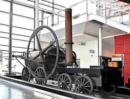 La locomotive a vapeur de richard trevithick locomotives l gendaires trains de l gende - Nettoyeurs de sols et vapeur ...