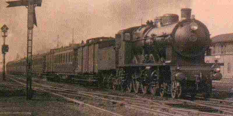 La Locomotive Superpacific Nord Conqu 234 Te De Vitesse Les Trains De L 233 Gende